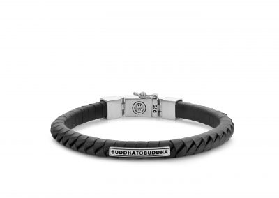 Komang_Small_Leather_Bracelet_Black_162BL_E_8718997011054